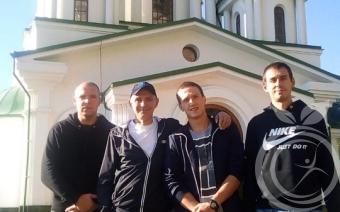 Выздоравливающие посетили Храм архангела Михаила в Гаспре