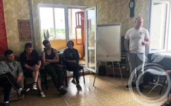 """Спикерская группа в Севастопольском центре реабилитации """"Мой выбор"""""""
