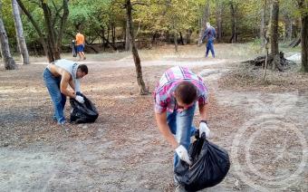 Субботник и реабилитация в Ялте